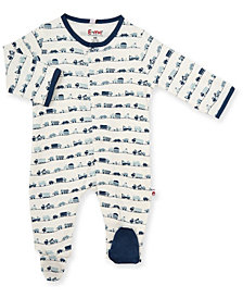 Baby Boy On The Road Magnetic Footie