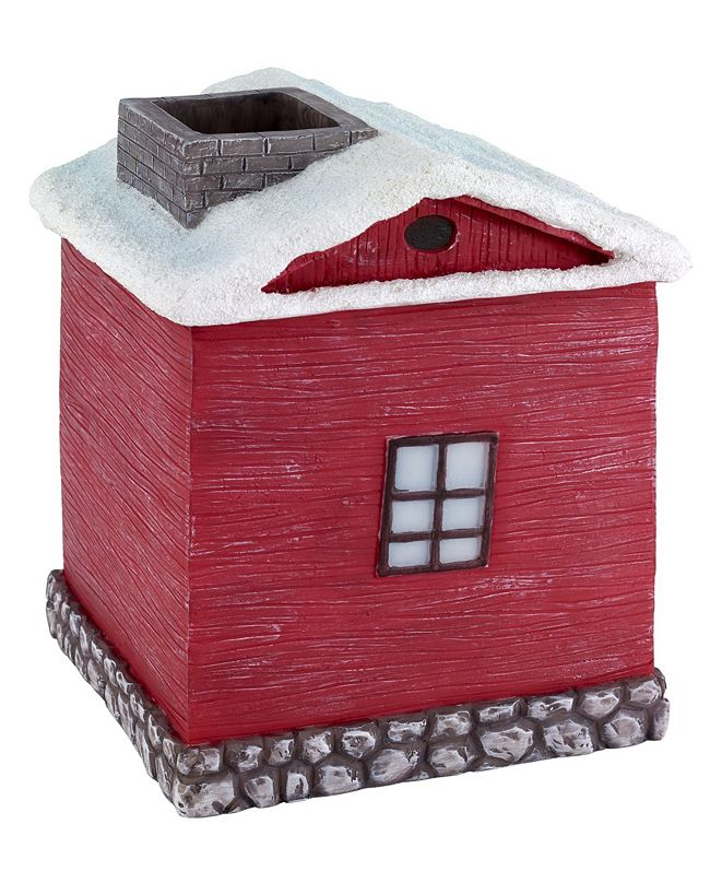 Avanti Christmas Village Tissue Cover
