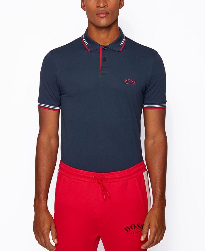 Hugo Boss - Men's Paul Slim-Fit Polo Shirt
