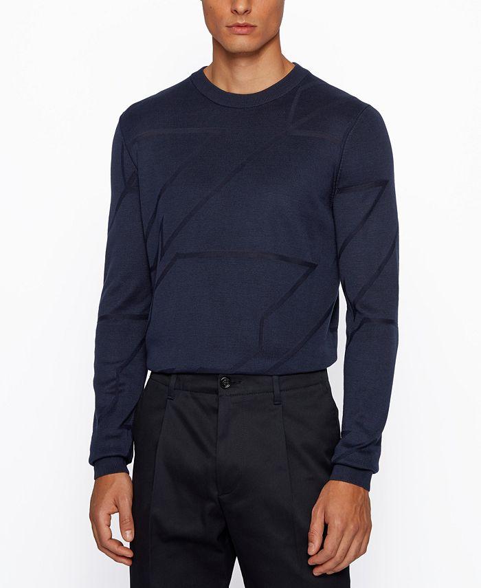 Hugo Boss - Men's T-Milan Italian-Silk Sweater