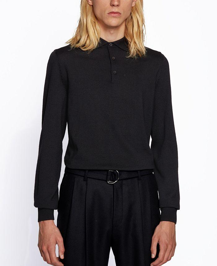 Hugo Boss - Men's Bono Polo-Collar Sweater