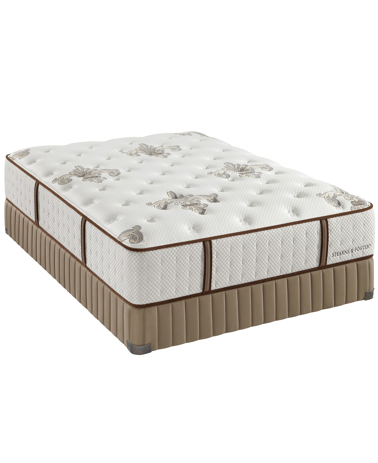 Luxury Home 2-Piece Stearns & Foster Estate  Mattress  with Boxspring, Plush Tight Top,Queen at Sears.com