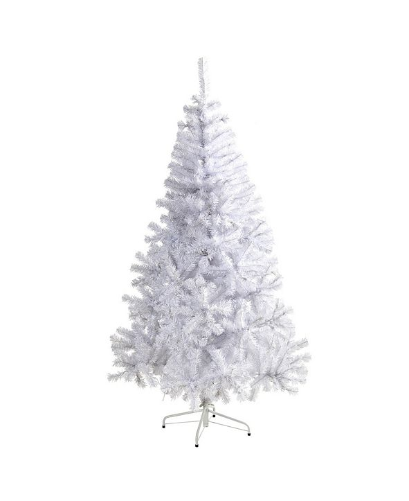 Nearly Natural Artificial Christmas Tree with 680 Bendable Branches