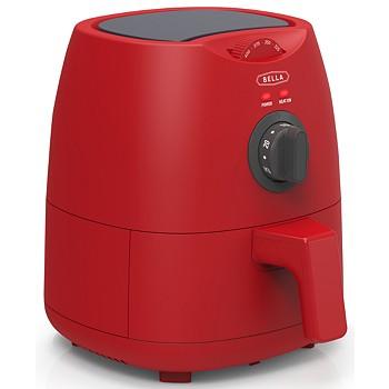 Bella 2-Quart Electric Air Fryer (Red, Pink or Aqua)