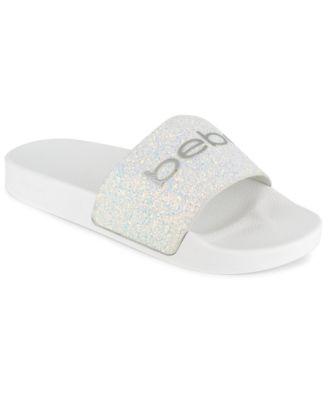 bebe Women's Fraida Slide Sandals