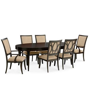Quinton 7 Piece Dining Room Furniture Set Furniture Macy 39 S