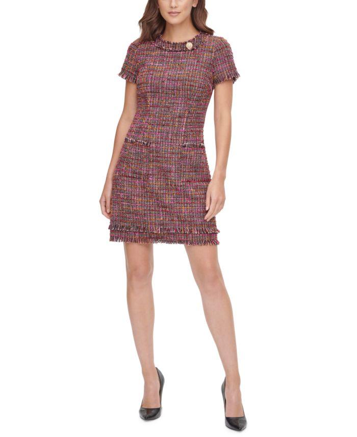 HARPER ROSE Aline Tweed Shift Dress  & Reviews - Dresses - Women - Macy's