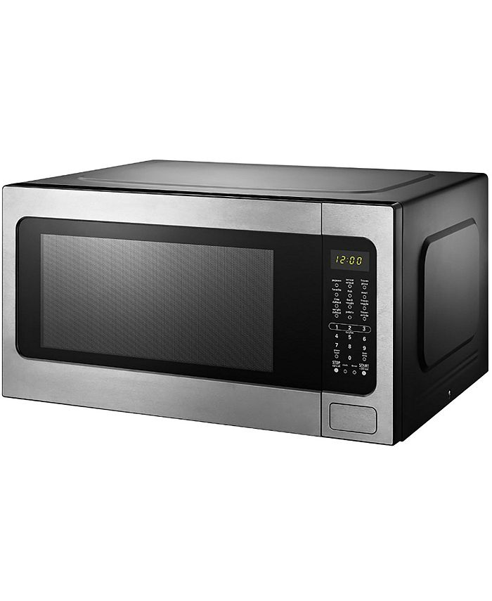 Black & Decker - EM262AMY-PHB 2.2 Cu. Ft. Microwave with Sensor Cooking, Stainless Steel
