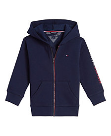 Tommy Hilfiger Toddler Boys Arnold Full Zip Hoodie