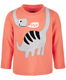 First Impressions Baby Boys Rawr Dino T-Shirt, Created for Macy's