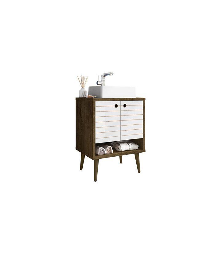 Manhattan Comfort Liberty Bathroom Vanity Sink Reviews Furniture Macy S
