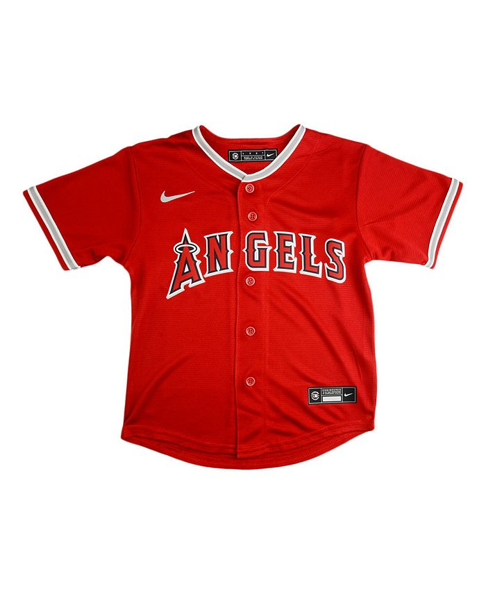 Nike - Los Angeles Angels Kids Official Blank Jersey