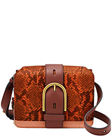 Fossil Women's Wiley Leather Crossbody