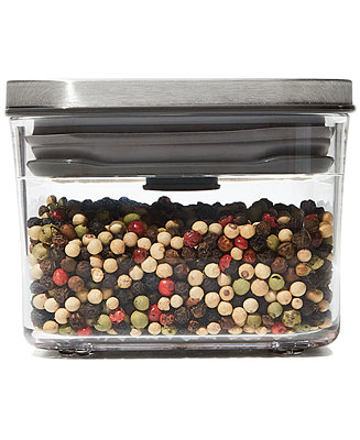 Oxo Steel Pop Small Square Mini 0 4 Qt Food Storage Container Reviews Home Macy S