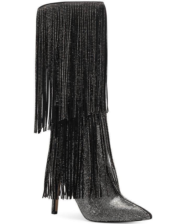 INC International Concepts - Ishani Fringe Boots