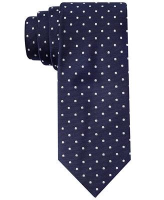 hilfiger slim dot doug tie ties pocket squares