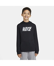 Nike Big Boys Sportswear Graphic Jersey Pullover Hoodie