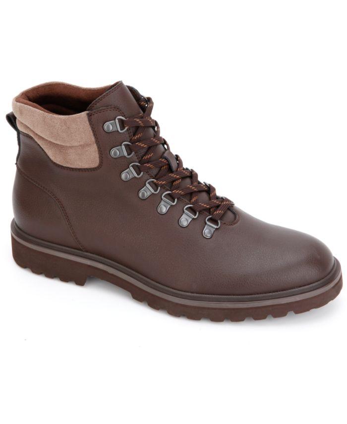 Kenneth Cole Reaction Men's Klay Lug Alpine Boots  & Reviews - All Men's Shoes - Men - Macy's