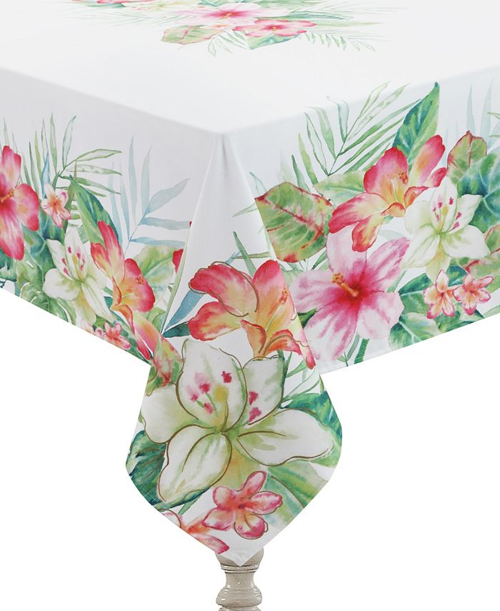 Laural Home - Tropical Island 70x144 Tablecloth