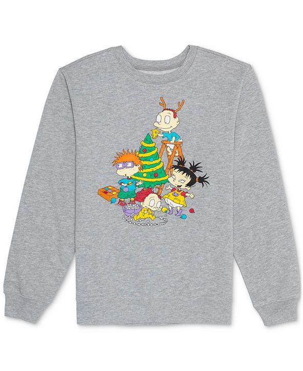 Nickelodeon Juniors' Rugrats Holiday Graphic Sweatshirt