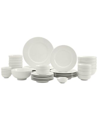 Inspiration by Denmark Fiore 42-PC. Dinnerware Set, Service for 6, Created for Macy's