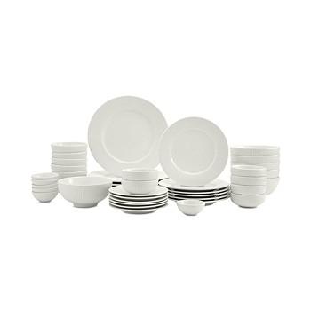 42-Piece Tabletops Unlimited Inspiration Denmark Fiore Dinnerware Set