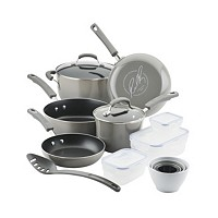 Deals on Rachael Ray Nonstick 19-Pc. Cookware Set