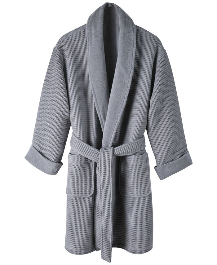 Hotel Collection - Cotton Waffle Textured Bath Robe