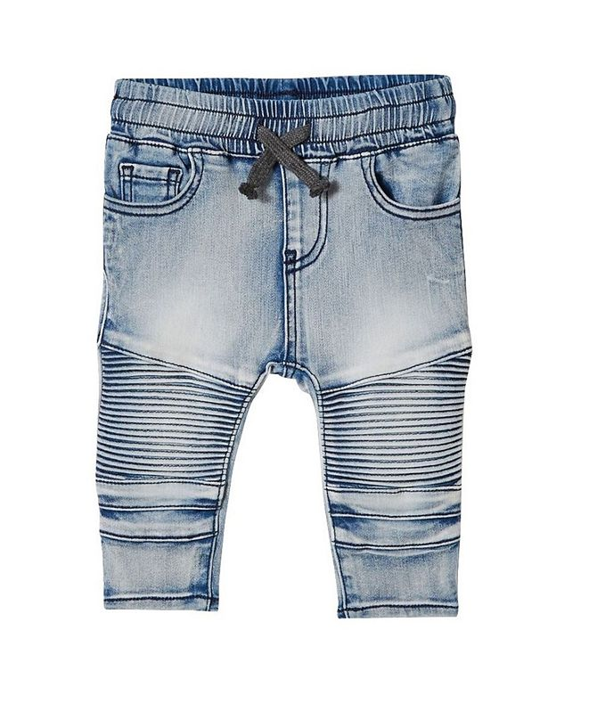 COTTON ON Baby Boys and Girls Jay Moto Jeans