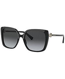 BVLGARI Women's Polarized Sunglasses, BV8225B 56