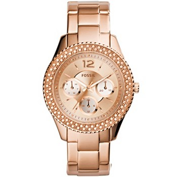 Fossil Women's Stella Rose Gold Stainless Steel Watch