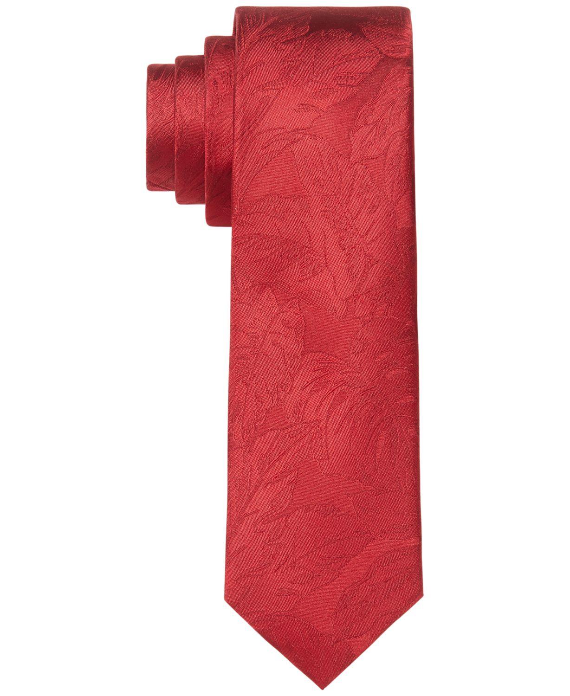 Tommy Hilfiger Men's Palm Solid Tie & Reviews - Ties & Pocket Squares - Men - Macy's