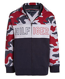 Tommy Hilfiger Little Boys Dot Camo Hoodie
