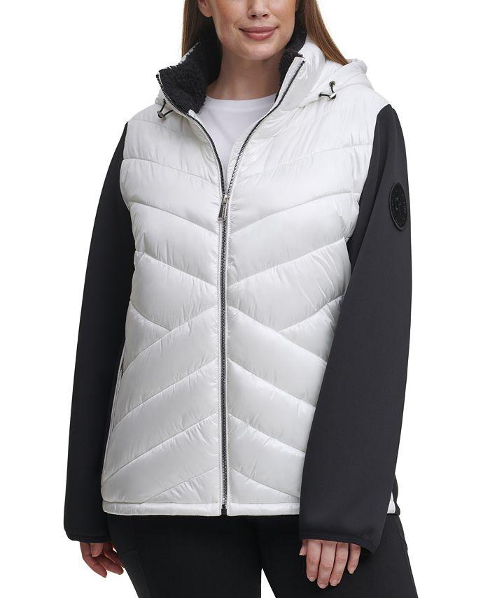 Calvin Klein - Plus Size Hooded Jacket