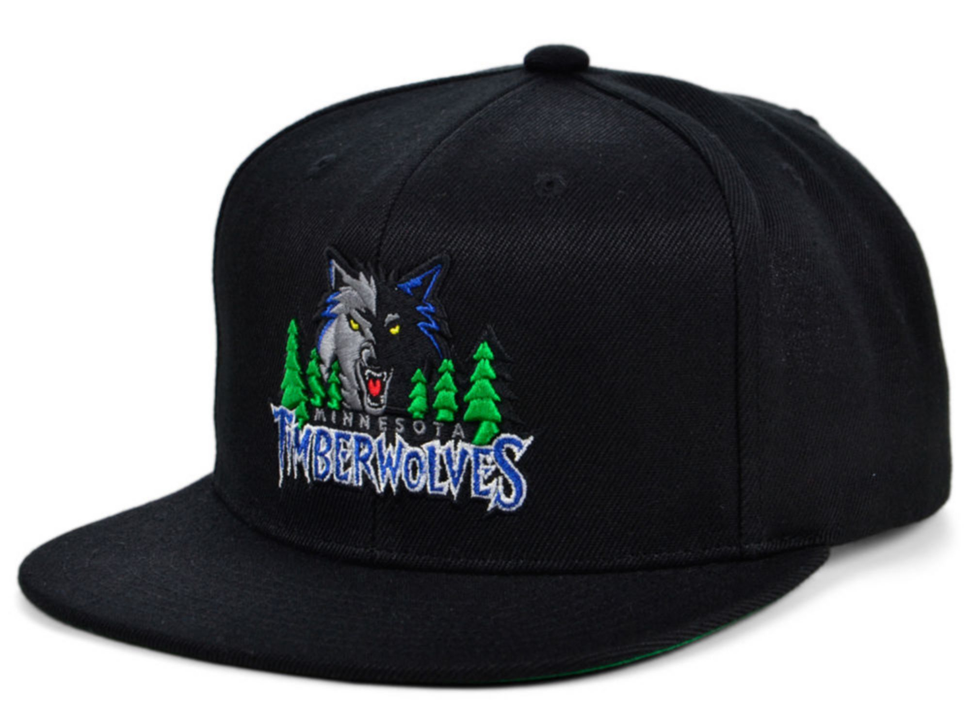 Mitchell & Ness Minnesota Timberwolves HWC Basic Classic Snapback Cap & Reviews - NBA - Sports Fan Shop - Macy's