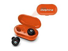 Prime Brands Miami Dolphins True Wireless Earbuds