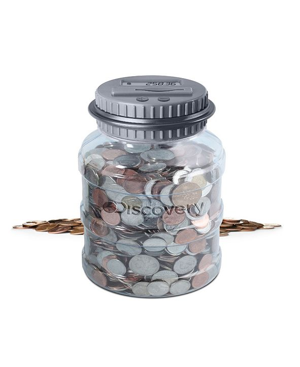 Discovery Kids Coin Counting Jar
