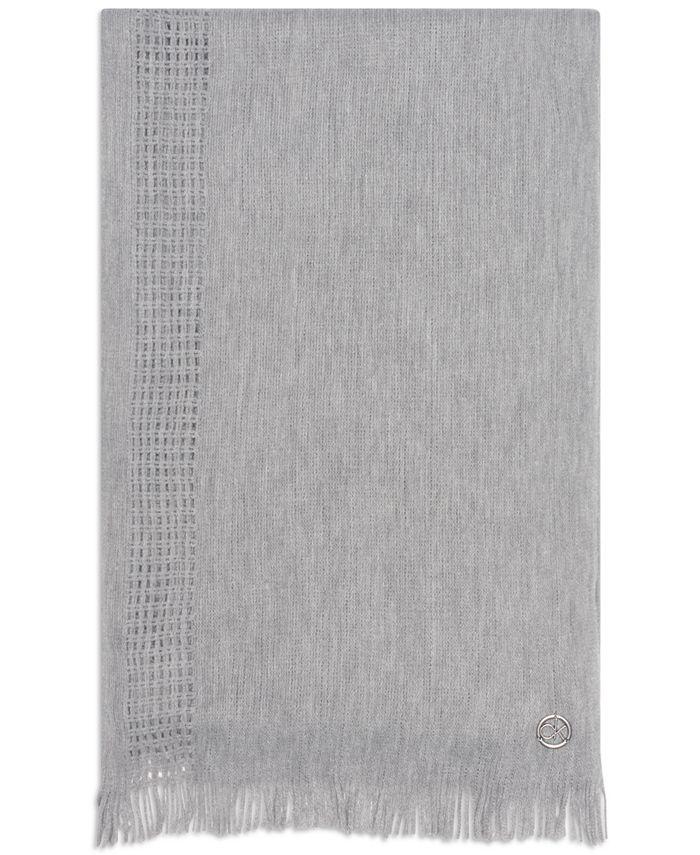 Calvin Klein - Pointelle-Knit Scarf