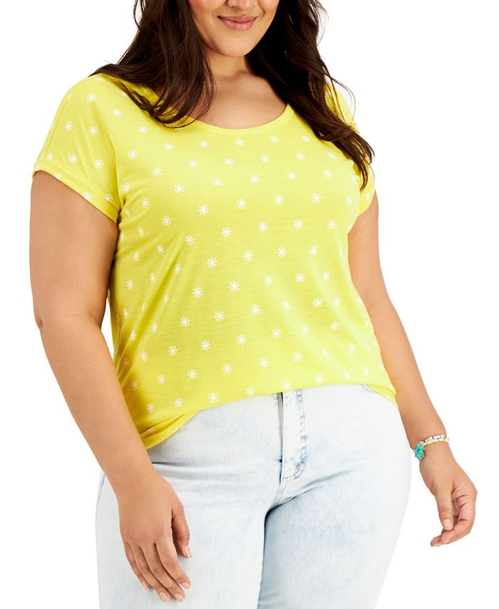 Style & Co - Plus Size Printed T-Shirt