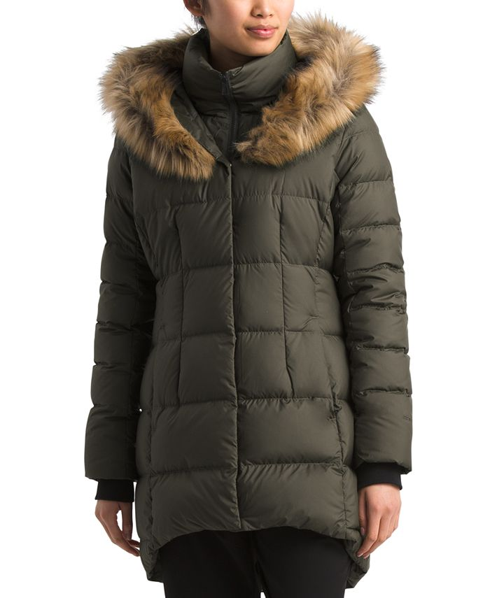The North Face - Dealio Faux-Fur-Trim Hooded Parka Coat