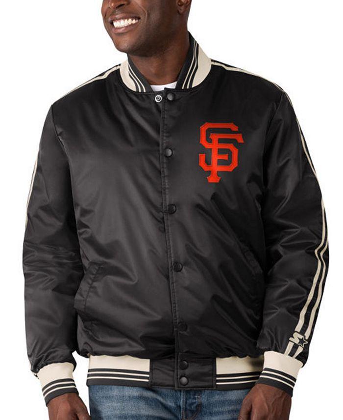 Starter - San Francisco Giants Men's Orginator Satin Jacket