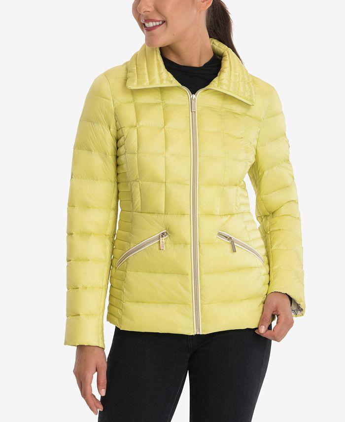 Michael Kors - Packable Down Puffer Coat