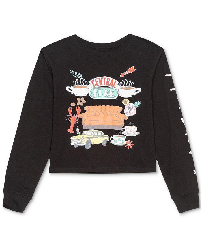 Warner Brothers - Juniors' Friends Long-Sleeve T-Shirt