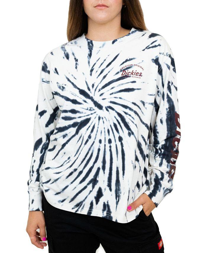 Dickies - Long-Sleeve Tie-Dyed T-Shirt
