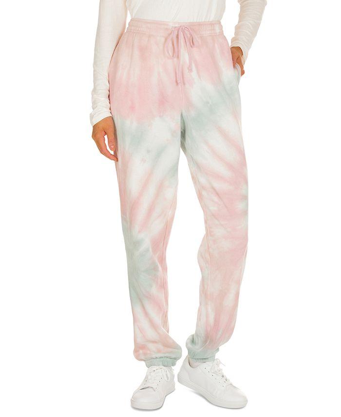 Hippie Rose - Juniors' Tie-Dye Jogger Pants