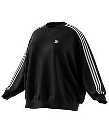 adidas Originals Plus Size Oversized Sweatshirt