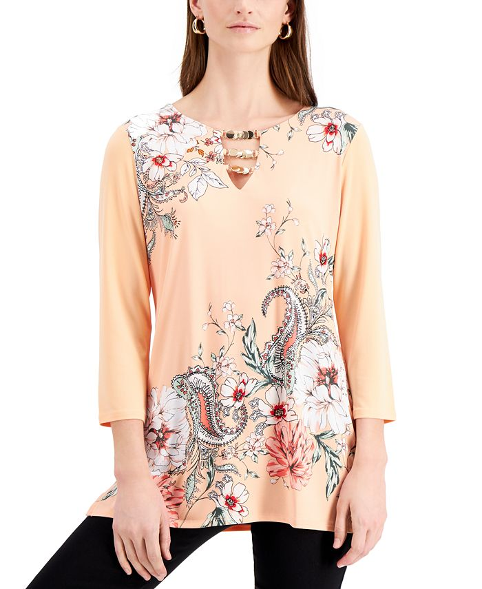 JM Collection - Printed Tunic