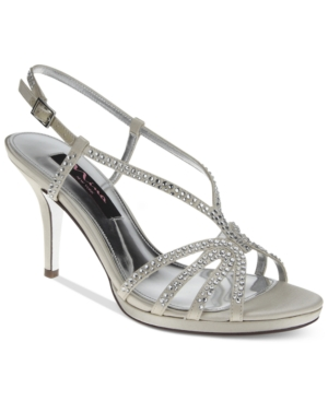 Nina Bobbie Slingback Evening Sandals Women's Shoes