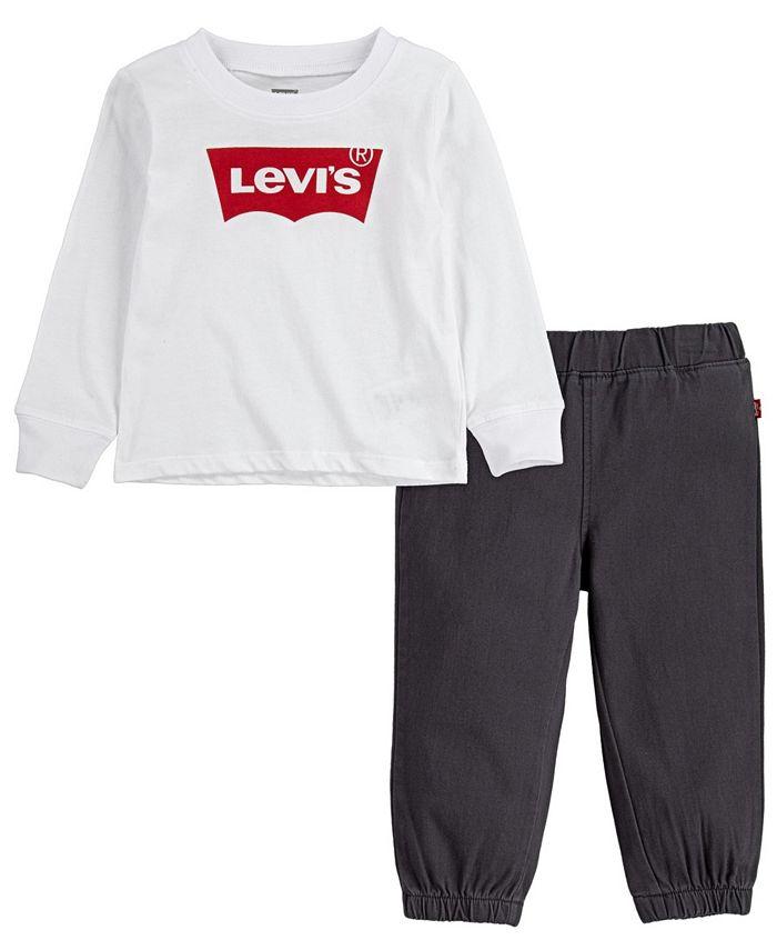 Levi's - Baby Boys Twill Jogger Set