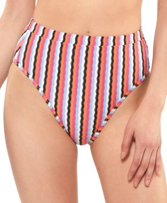 Got The Groove High-Waist Bikini Bottoms
